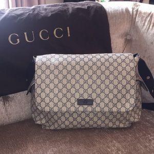 Gucci Diaper Bag - Navy